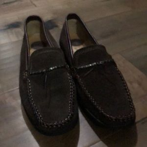 Bass Villeni Suede Loafers Women's Size 8 1/2